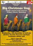 Big Christmas Sing Poster